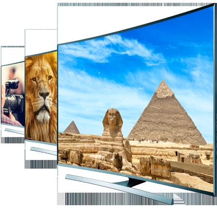 Televisiones con varios canales